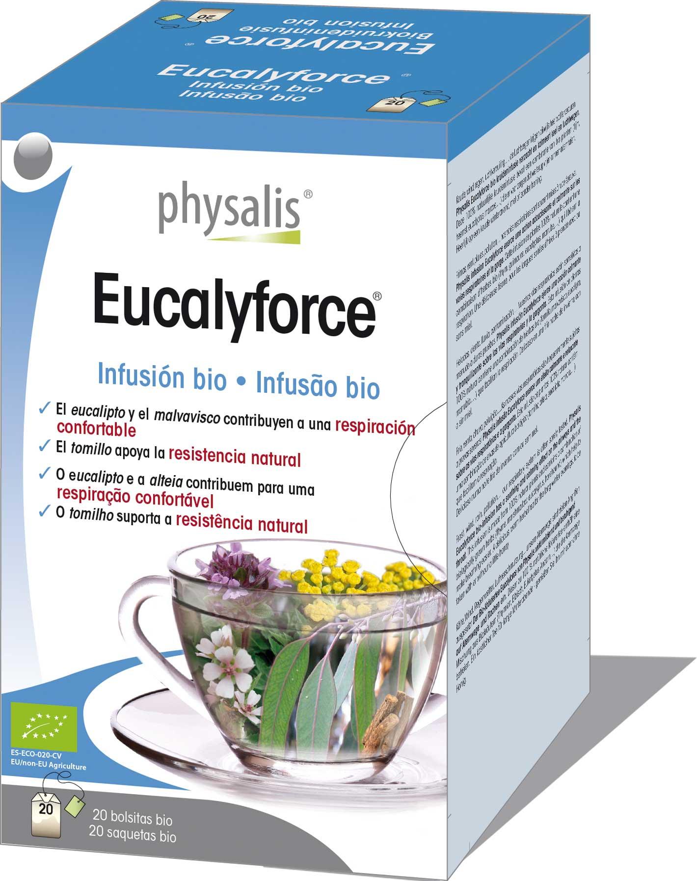 Eucalyforce<sup>®</sup> Infusión bio